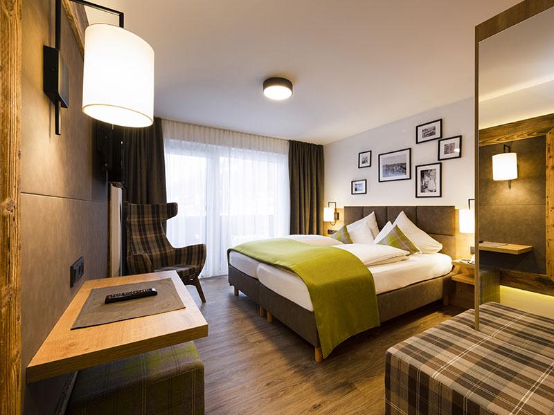 Doppelzimmer Alpin Style Stubaiblick